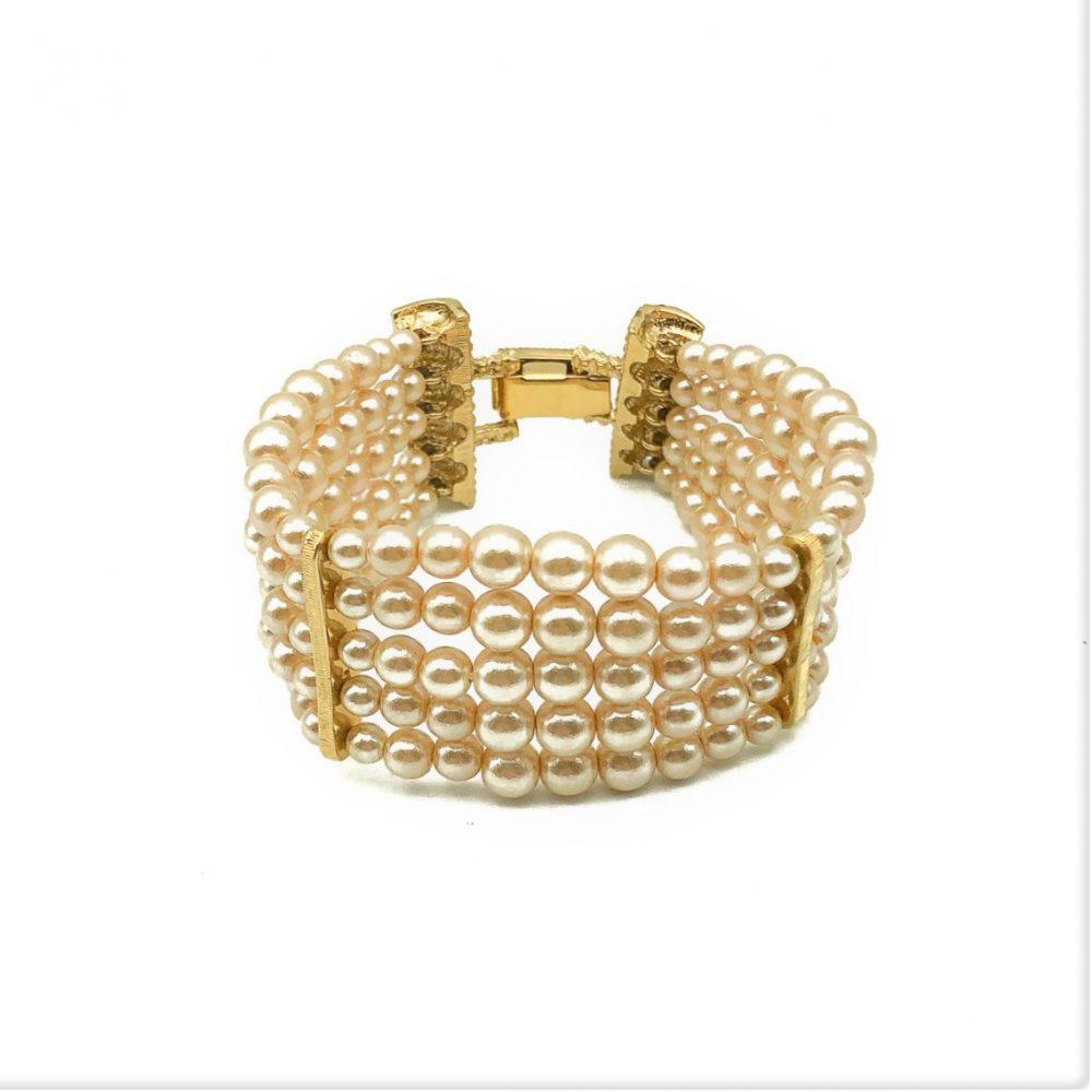 Vintage Dior Pearl Bracelet
