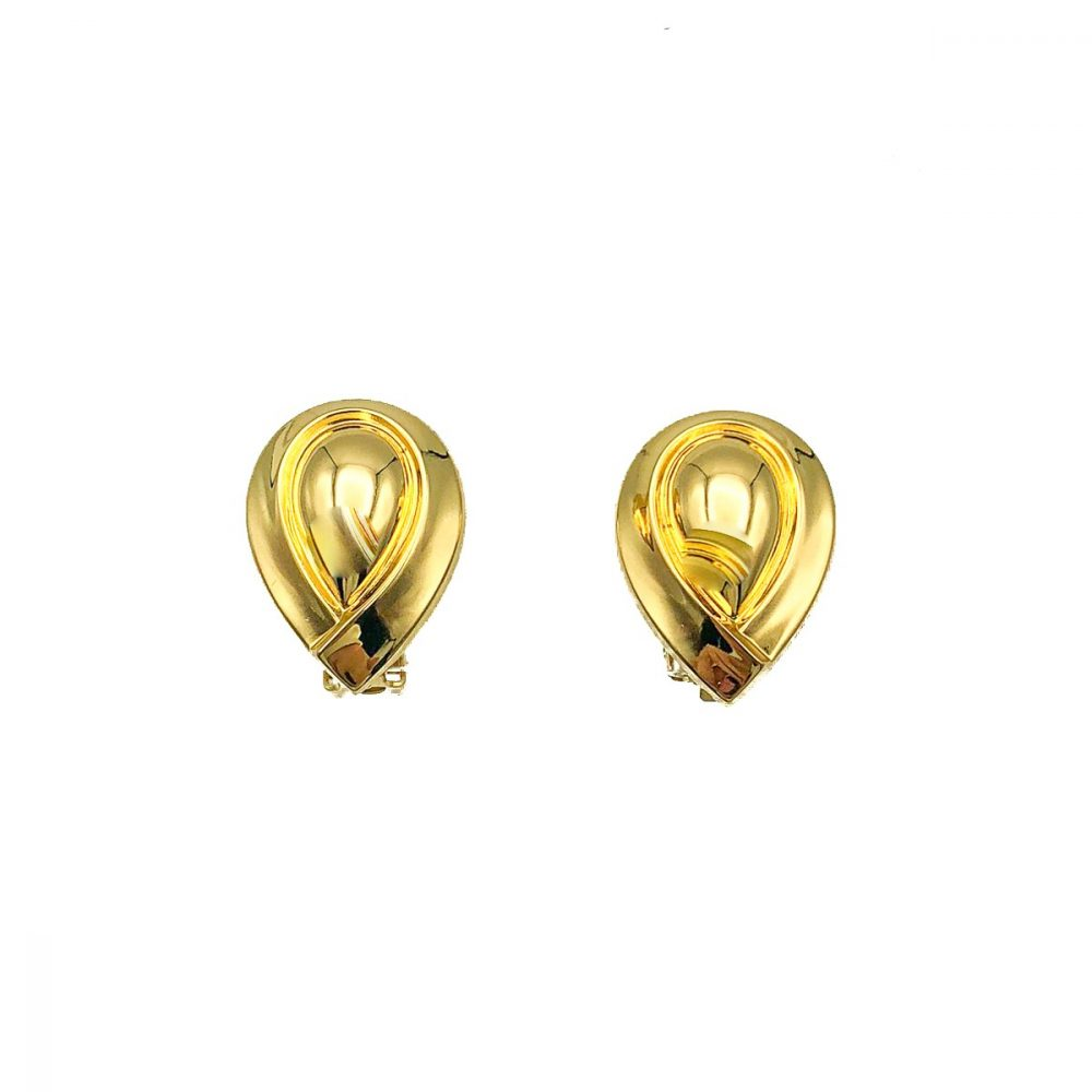 Vintage Dior Teardrop Earrings