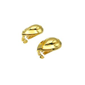 Vintage Dior Teardrop Earrings