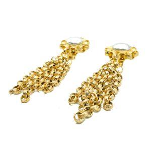Vintage Ellen Designs Tassle Earrings