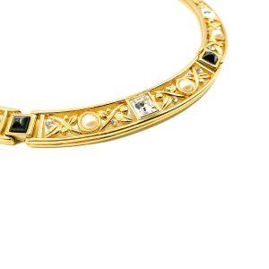 Vintage Monet Crystal Collar