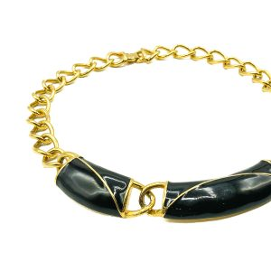 Vintage Monet Enamel Collar