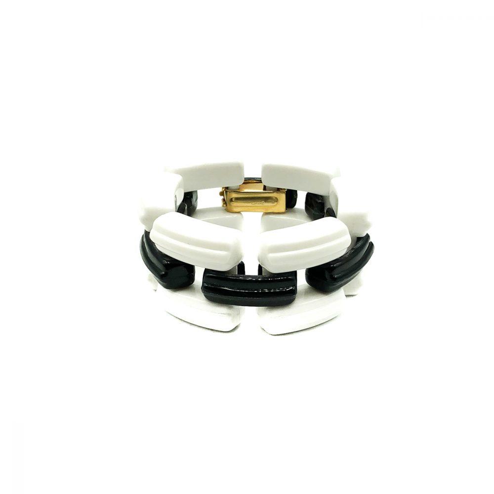 Vintage Napier Monochrome Bracelet