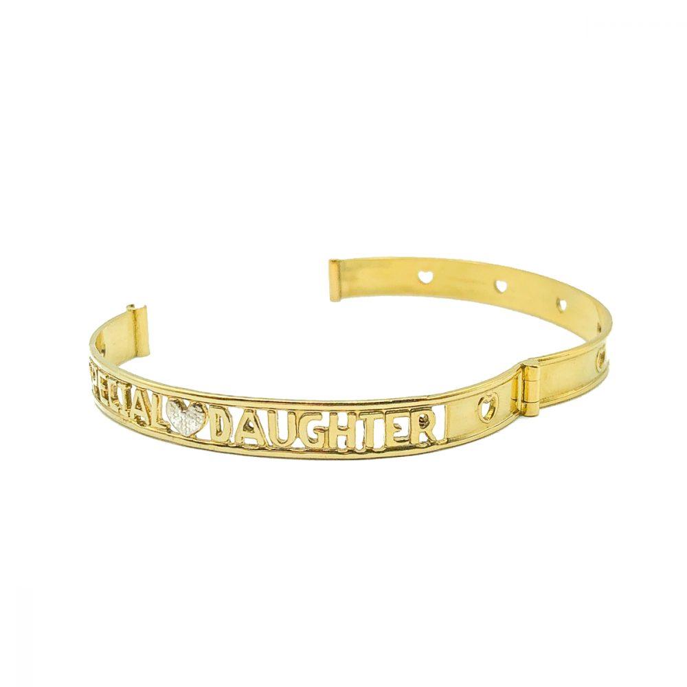 Vintage Special Daughter Bracelet