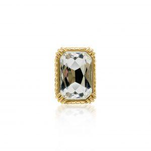 Vintage Dior Crystal Ring