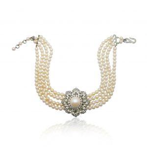 Vintage Dior Pearl Choker