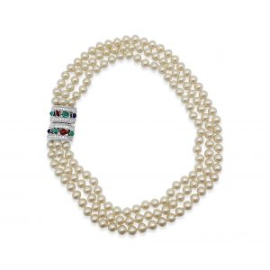 Vintage Givenchy Tutti Frutti Necklace