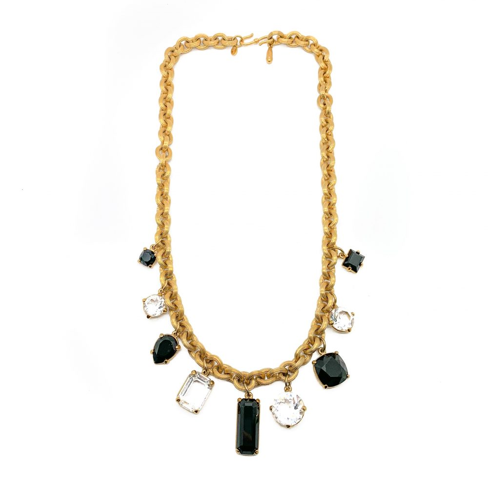 Monet Crystal Necklace