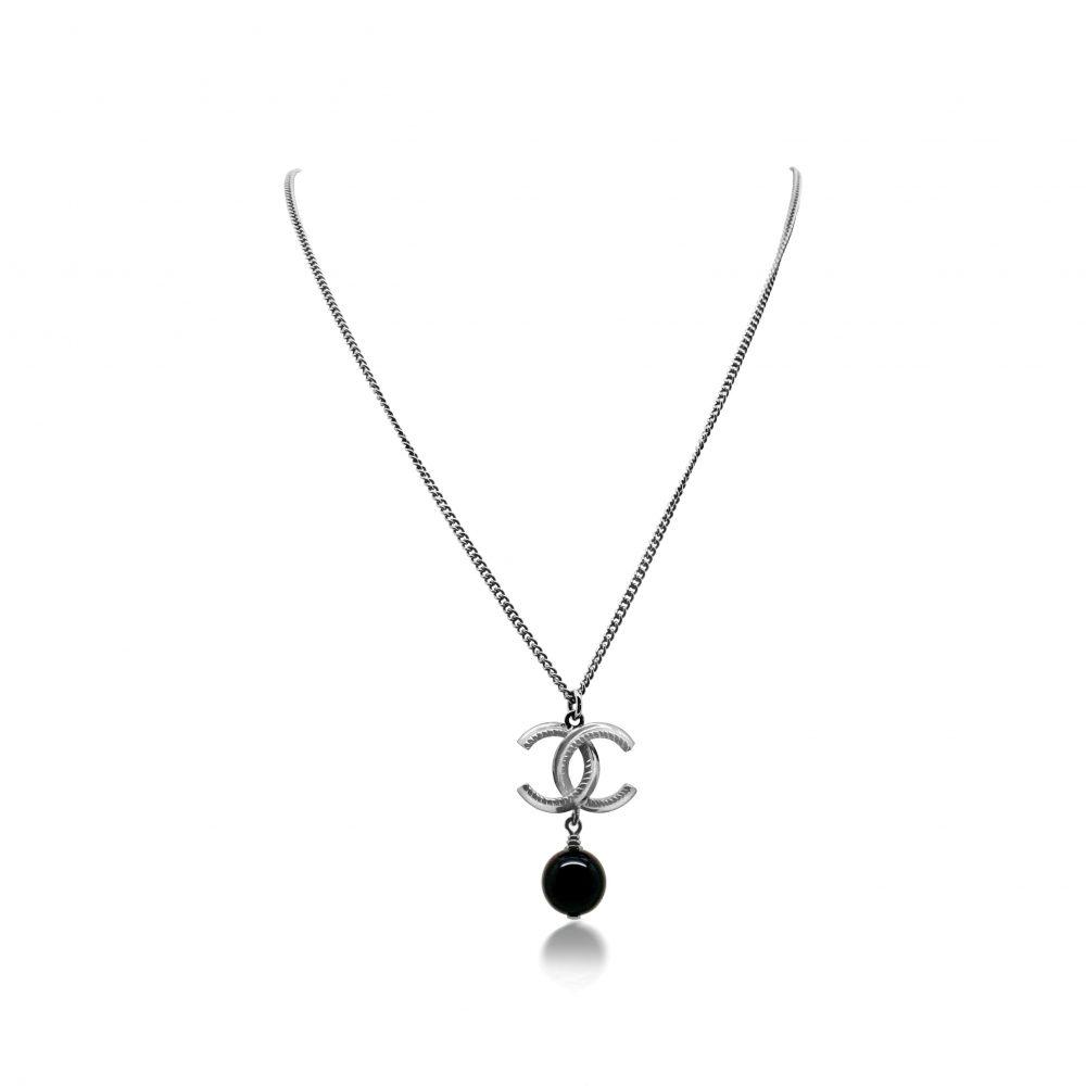 Chanel CC Logo Necklace