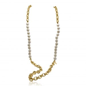 Chanel Pearl Chain Necklace