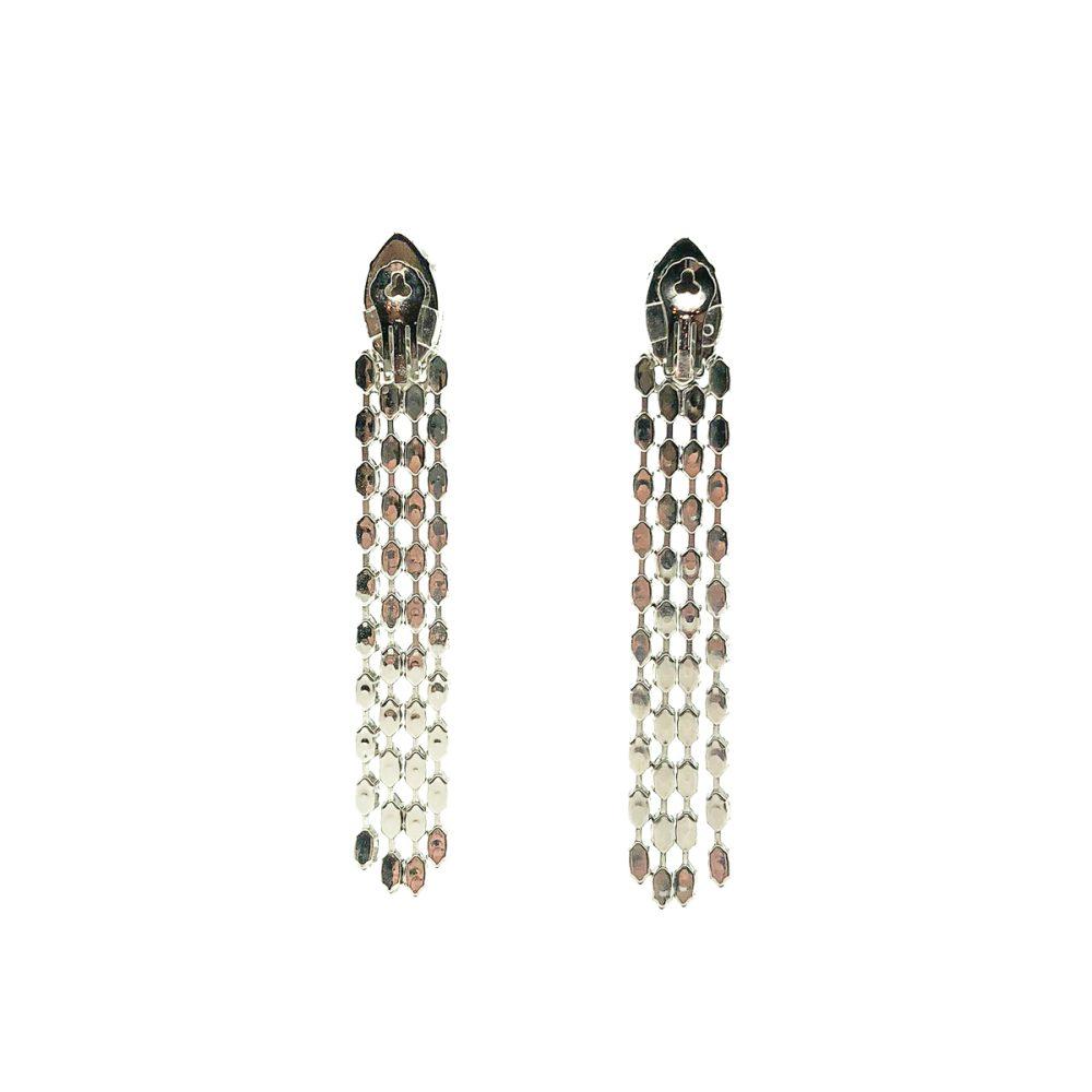 Vintage Crystal Shoulder Duster Earrings