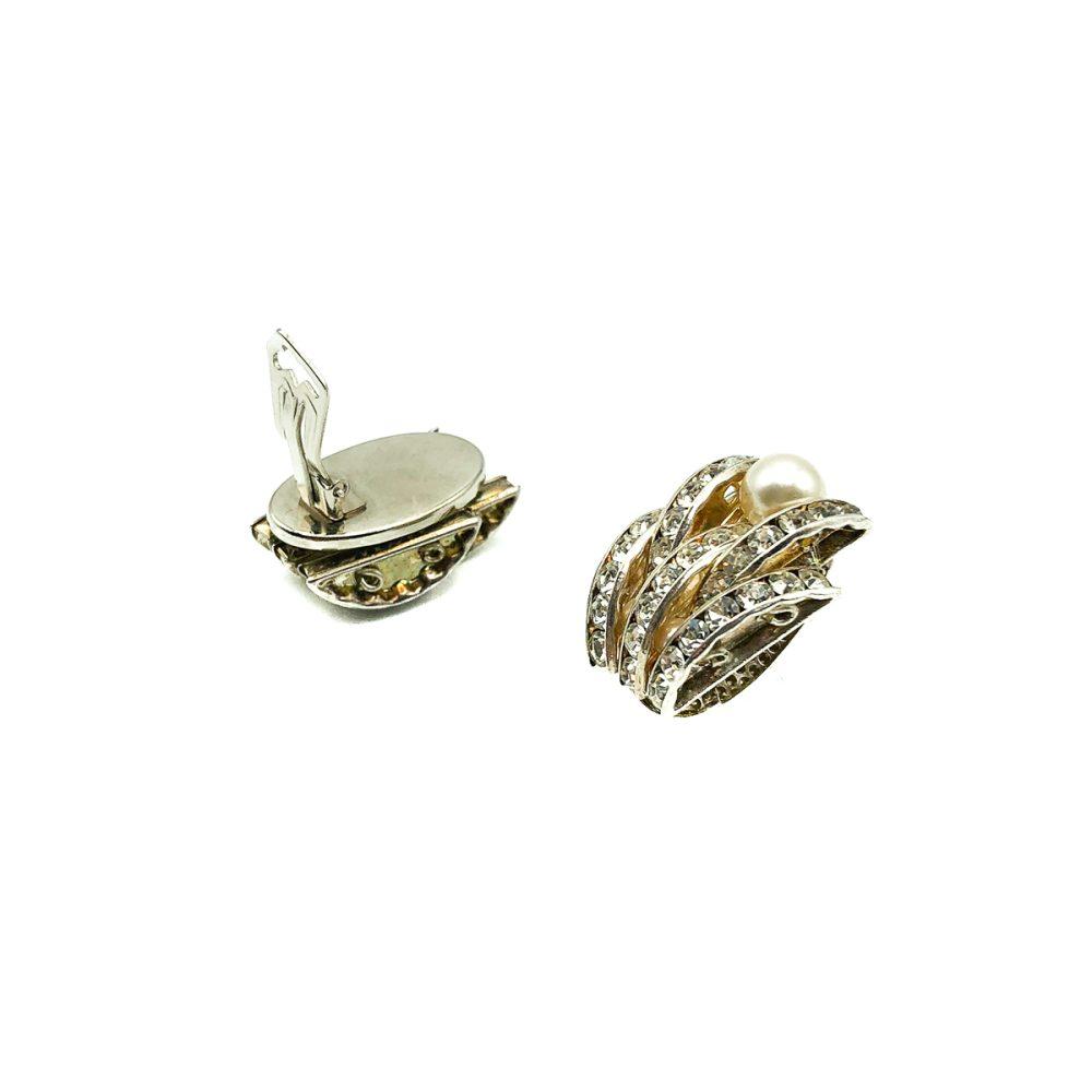 Vintage Art Deco Crystal Earrings