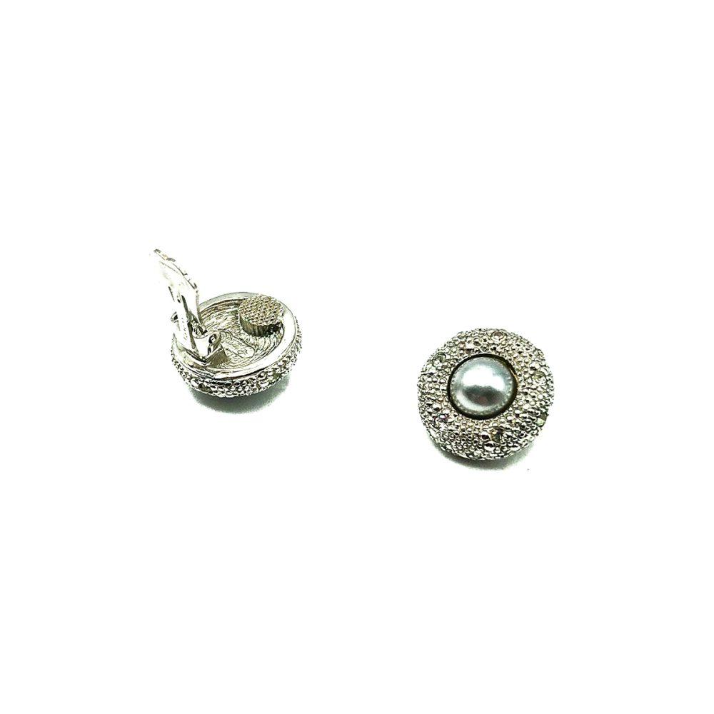 Vintage Grosse Grey Pearl Earrings