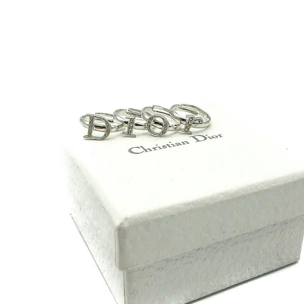 Vintage Dior Stacking Rings