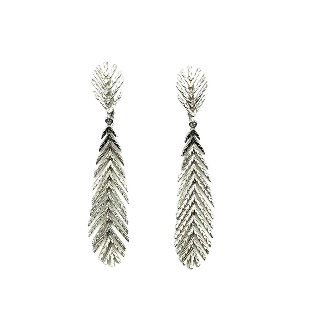 Vintage Feather Earrings