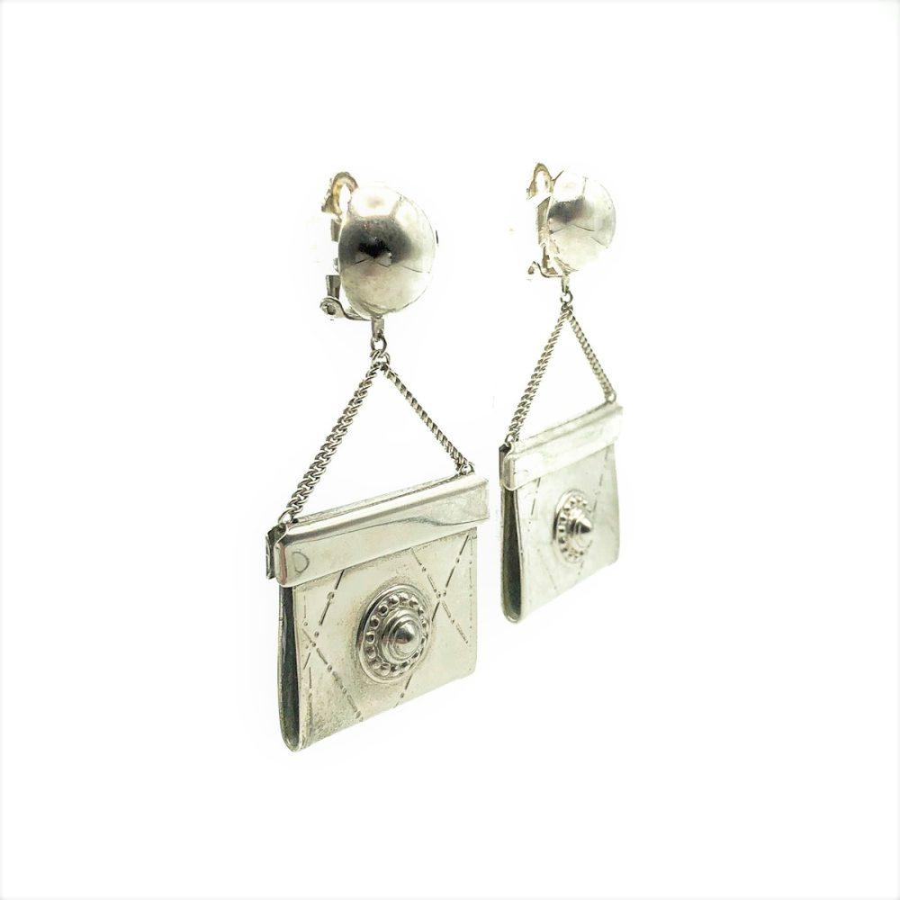 Vintage Handbag Earrings