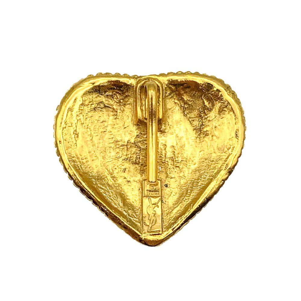 Yves Saint Laurent Heart Pendant