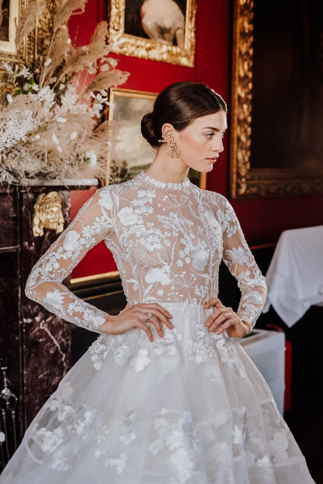 Love My Dress Emma Beaumont Atelier Featuring Jennifer Gibson Jewellery