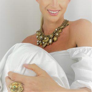 Jennifer Gibson Jewellery Vintage Butler & Wilson Necklace