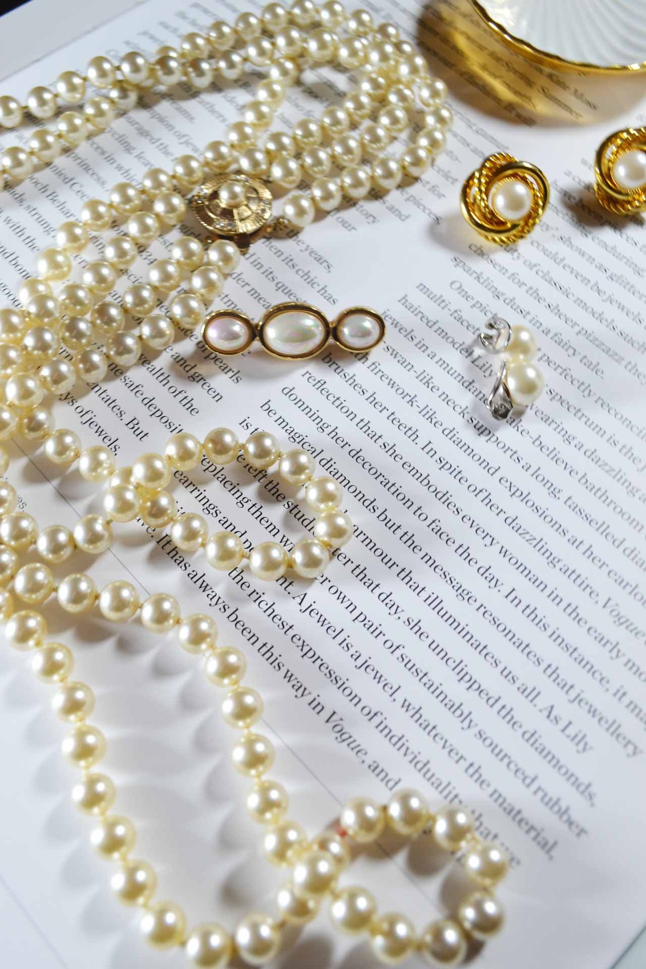 Jennifer Gibson Jewellery Pearl Glam Collection