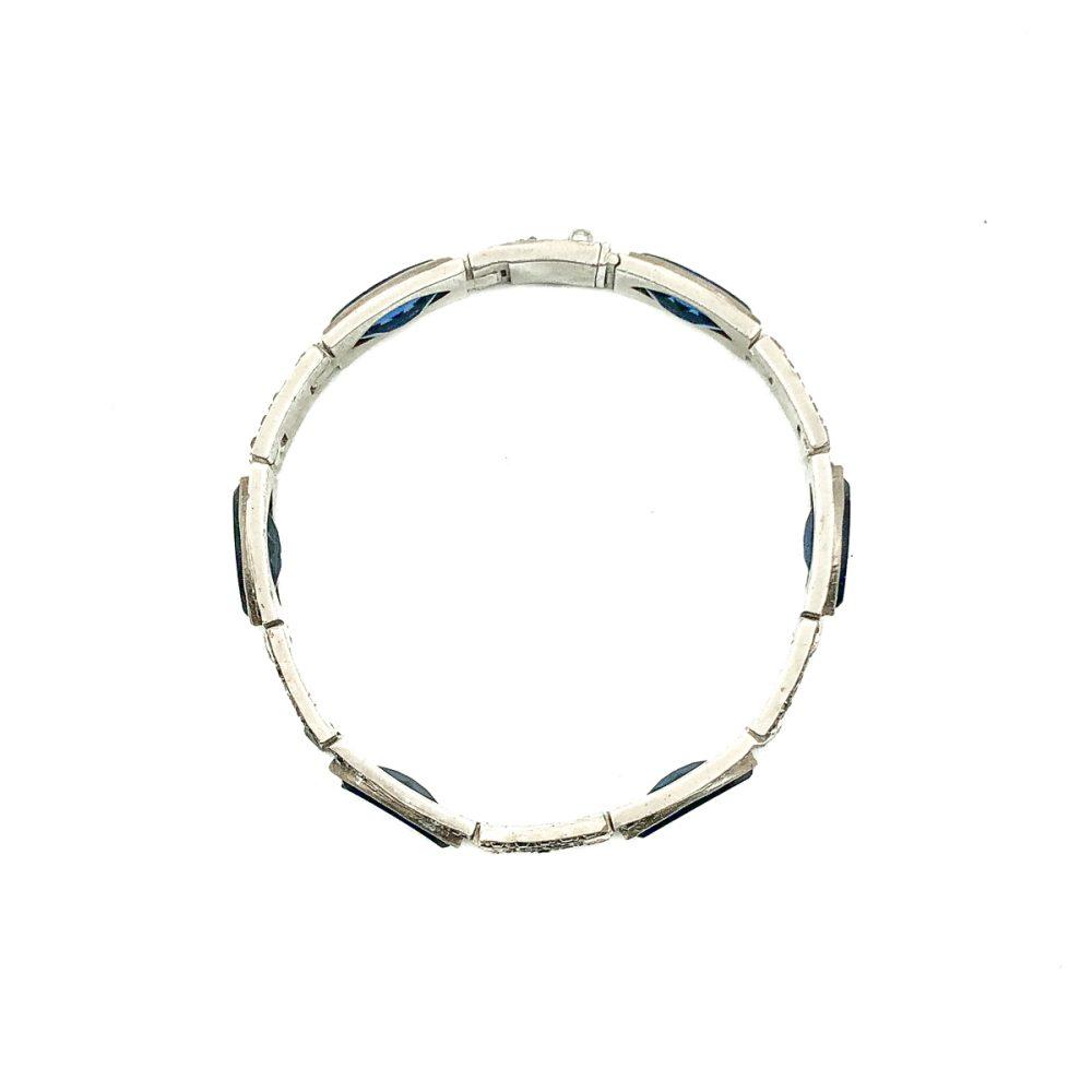 Antique Art Deco Paste Bracelet