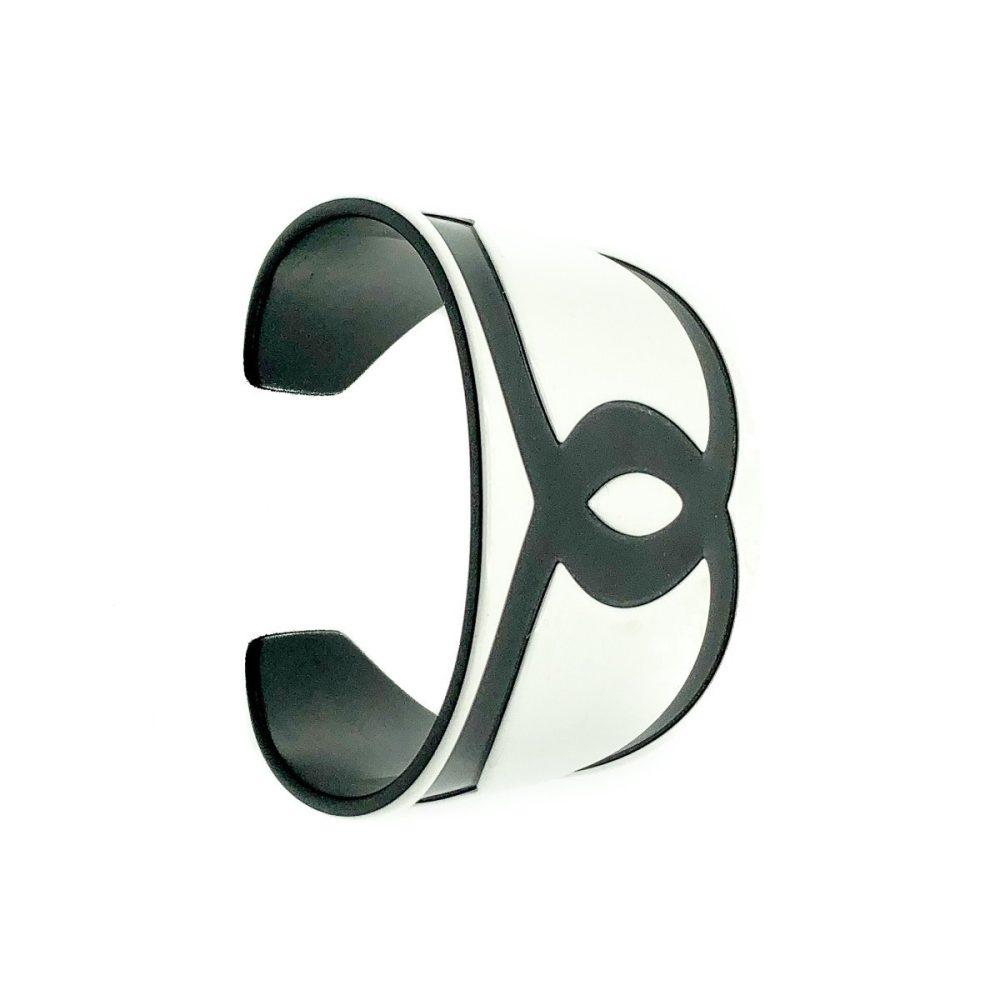 Chanel Monochrome CC Cuff