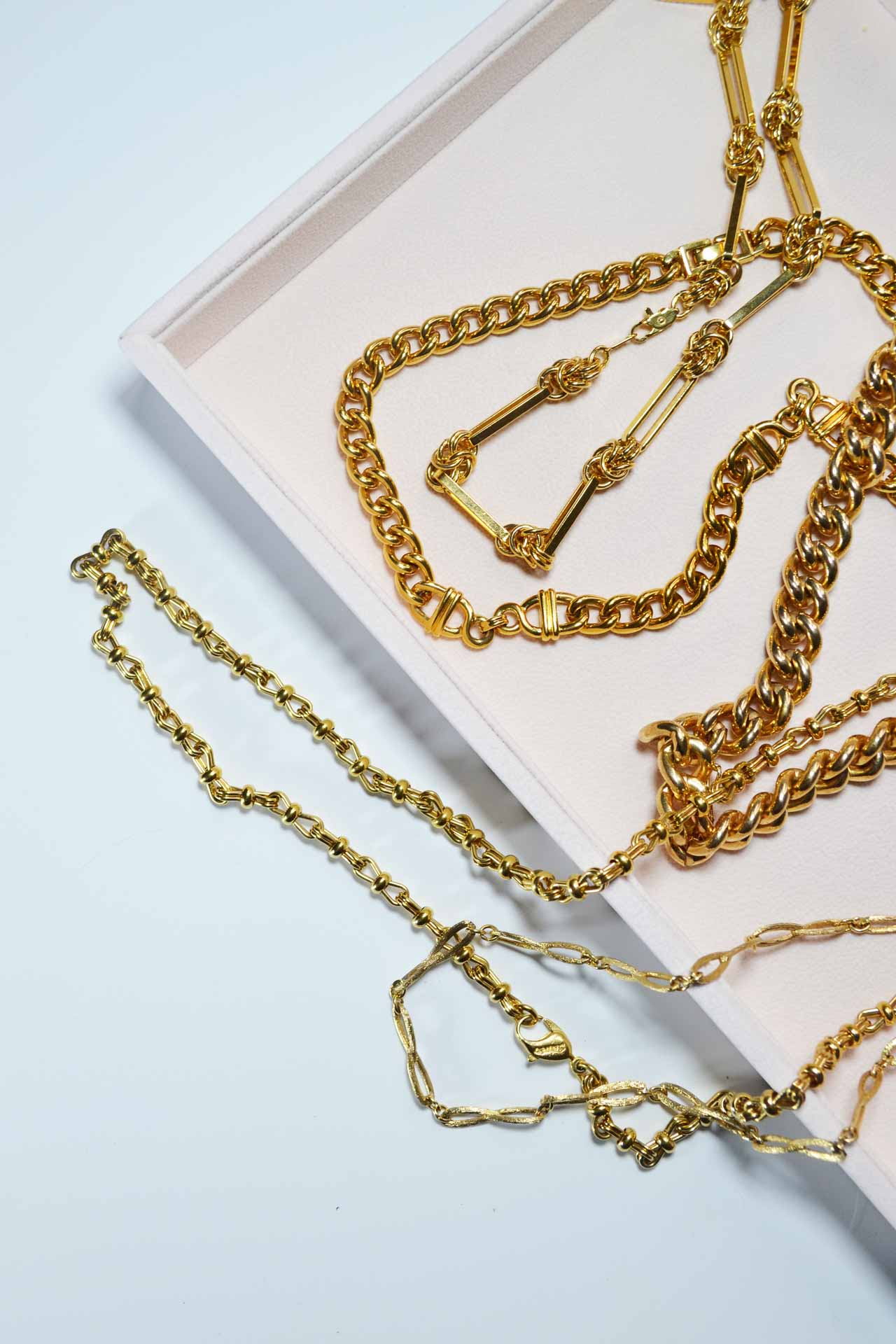 Insane Chains Jennifer Gibson Gold Vintage Jewellery