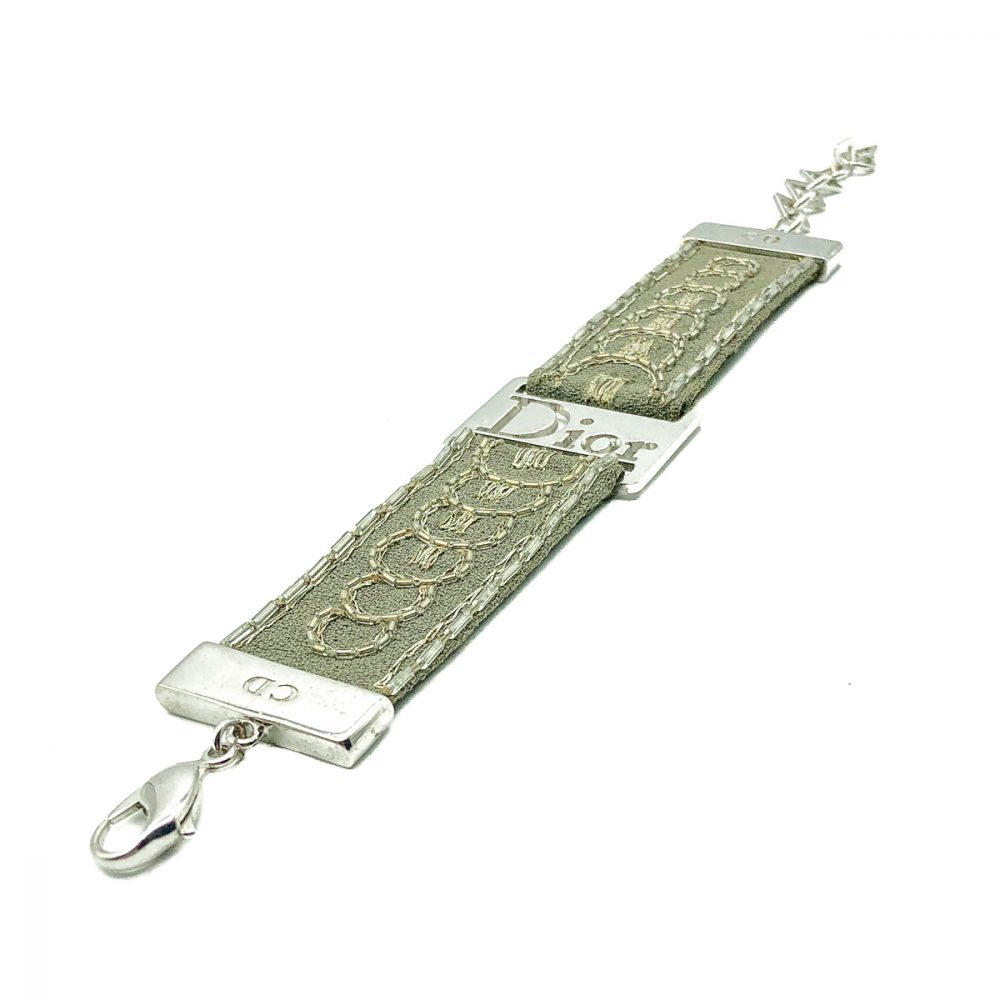 Vintage Dior Khaki Strap Bracelet