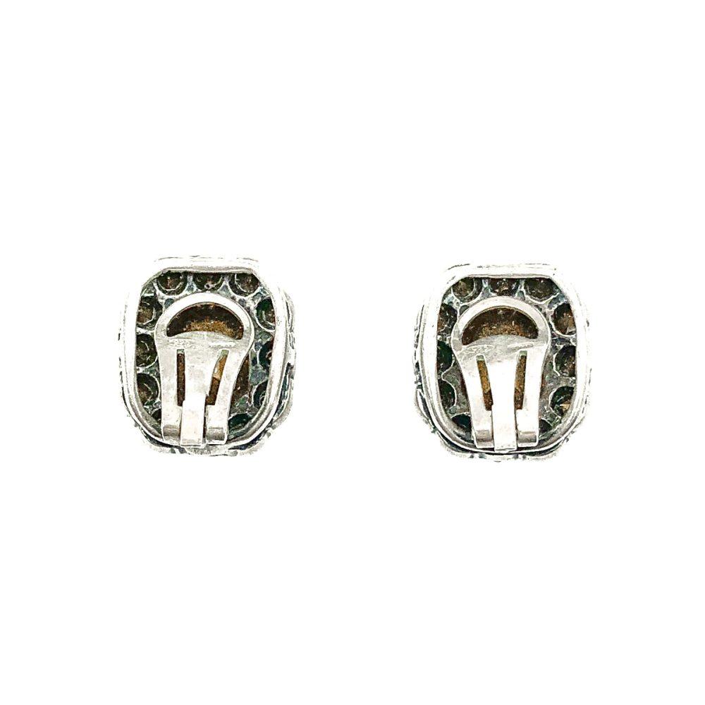 Vintage Italian Sapphire Earrings