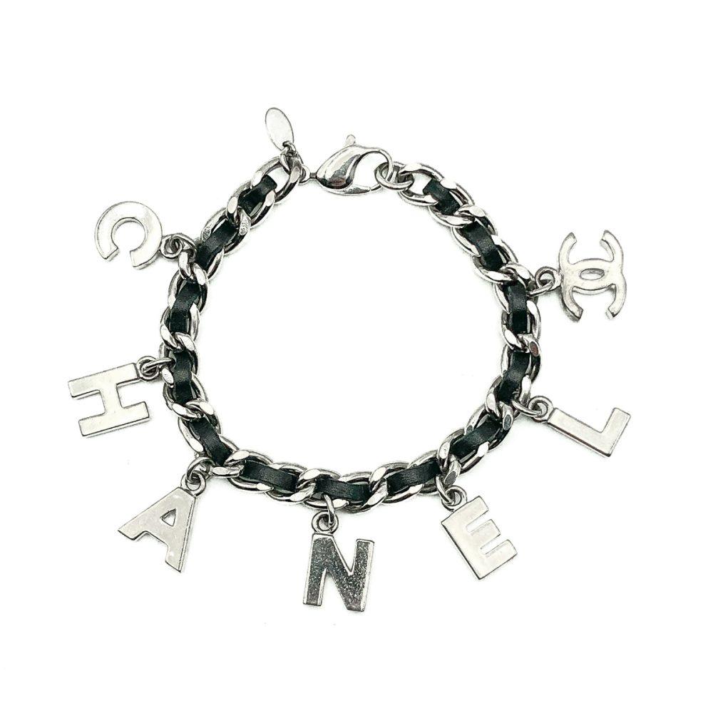 Chanel Letter Charm Bracelet