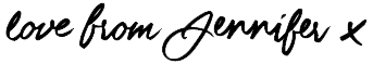 Love Jennifer Signature