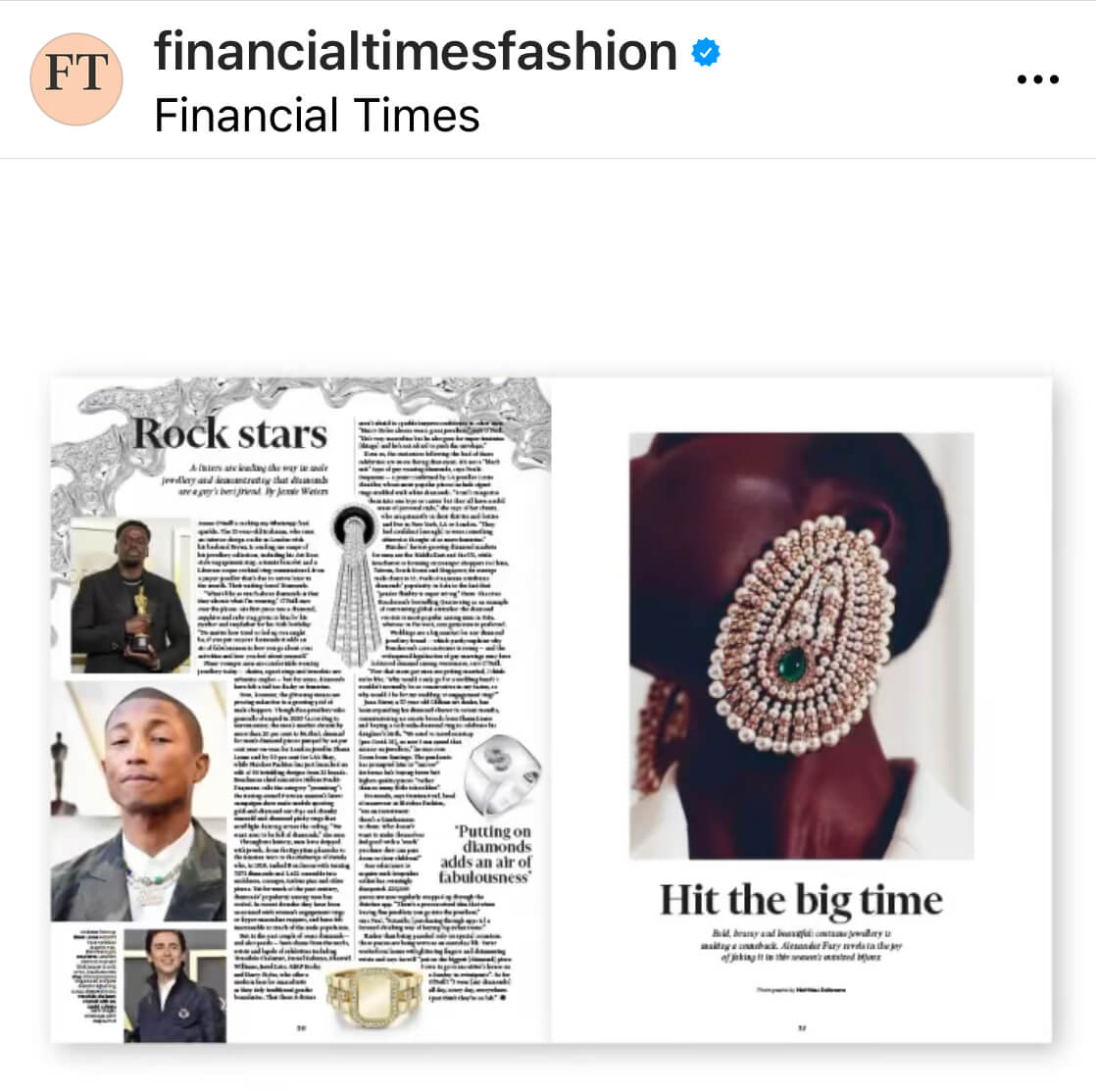 The FT The Art of Fashion May 2021 (2)-Jennifer Gibson Jewellery