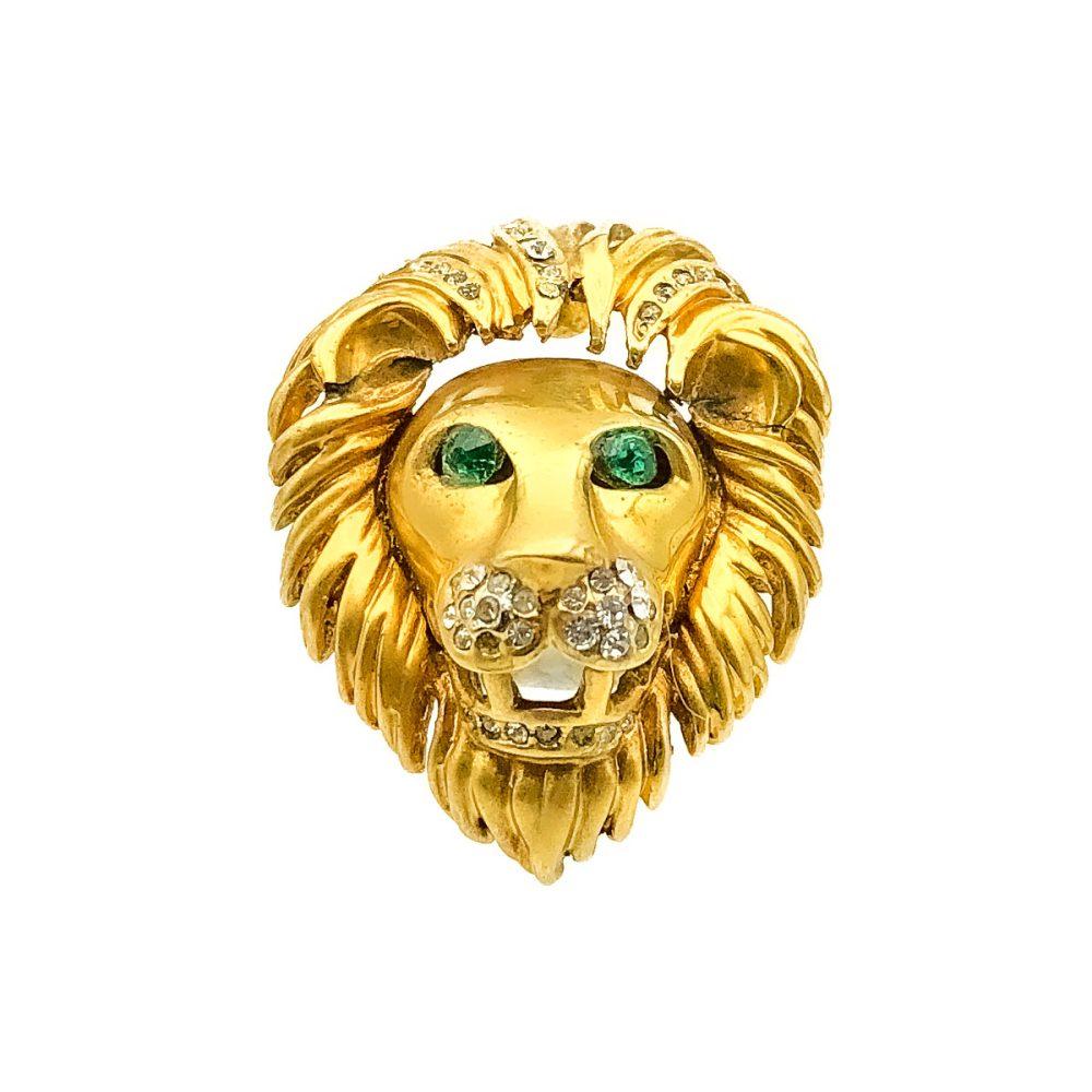 Vintage Lion Ring