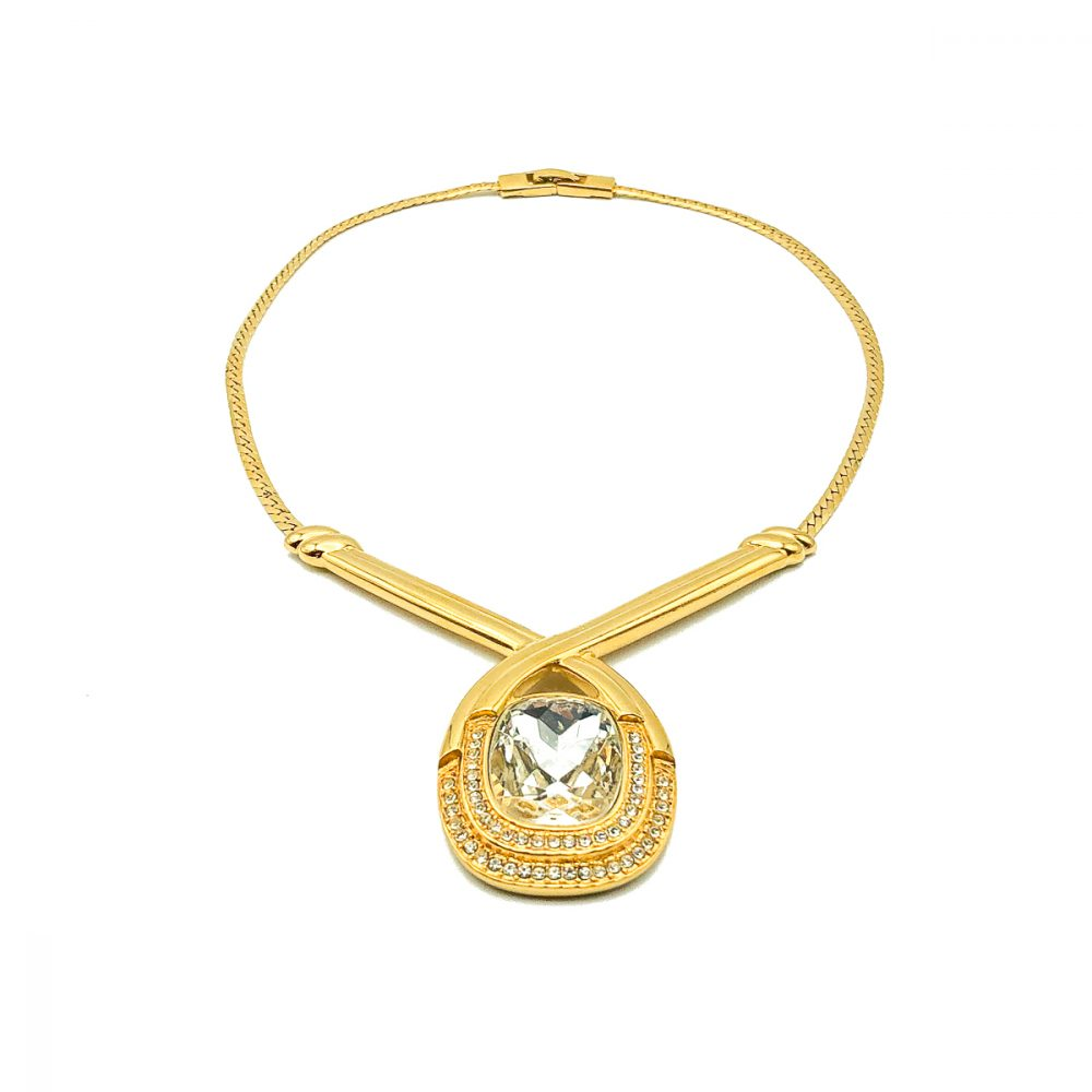 Vintage Monet Crystal Necklace