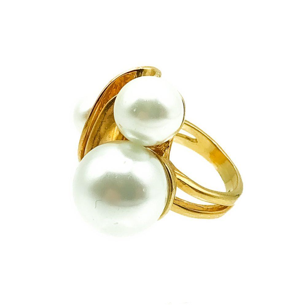 Vintage Statement Pearl Ring