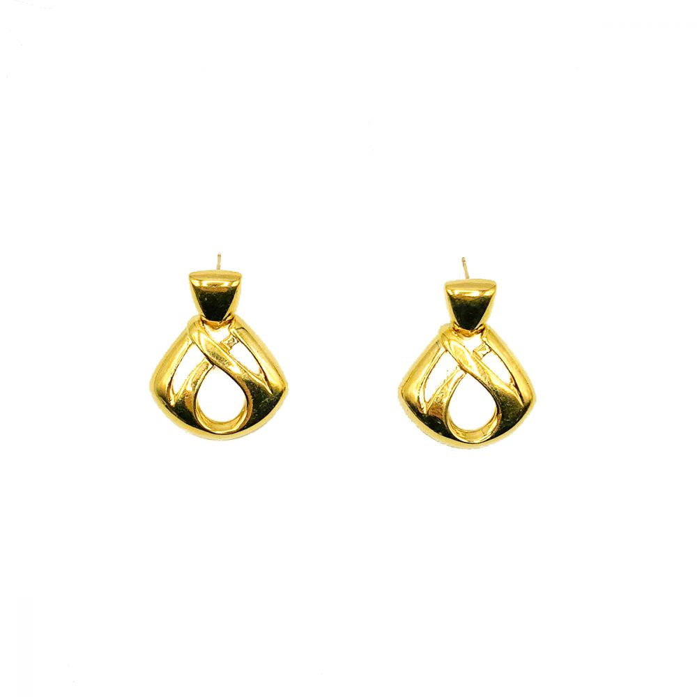 Vintage Givenchy Infinity Earrings
