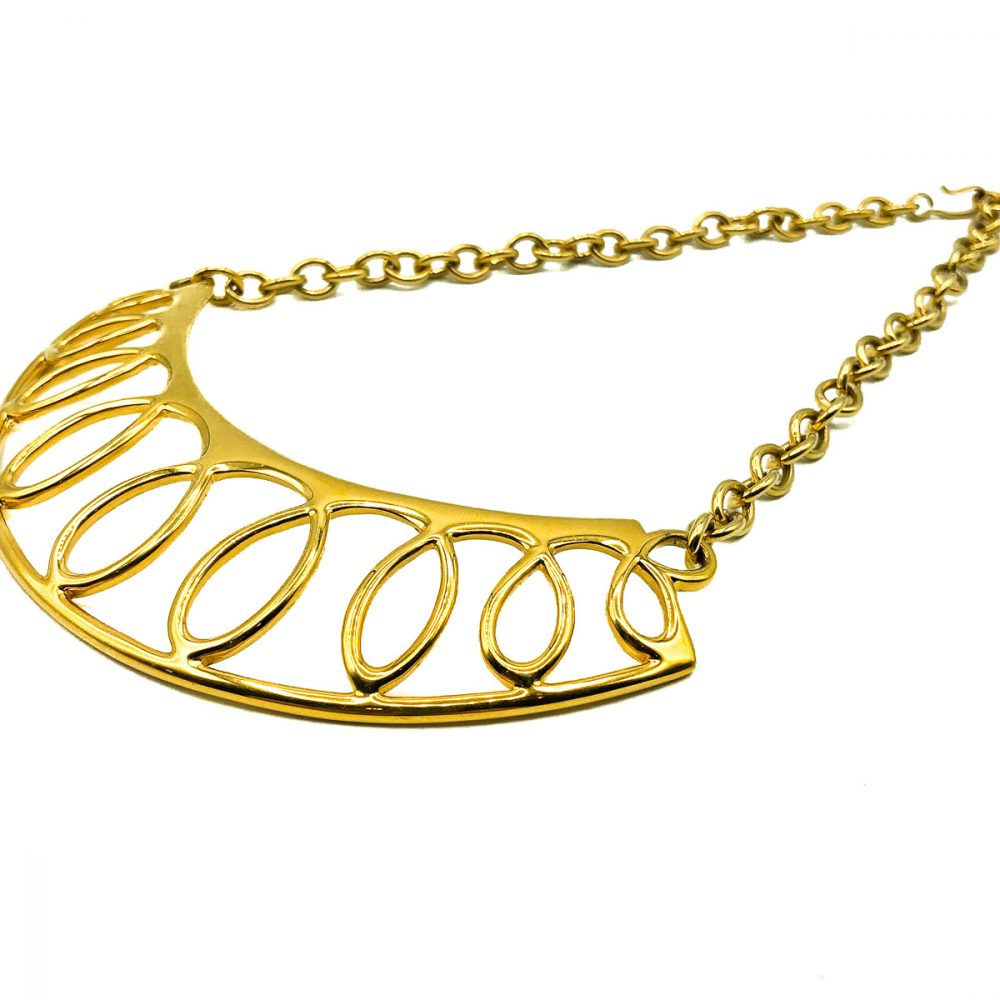 Vintage Monet Loop Necklace