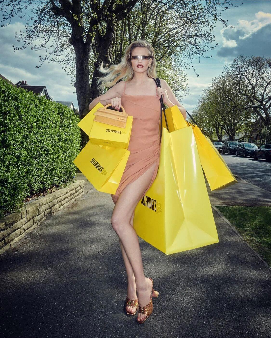 Selfridges Fashion Editorial with Jennifer Gibson Jewellery by Vincent Levy
